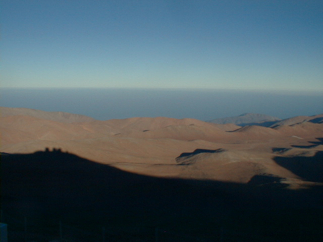 Shadow of Paranal