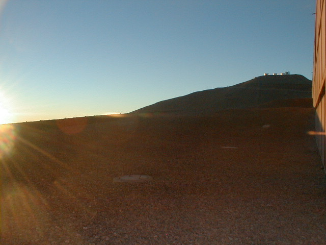 The Paranal Observatory at noon
