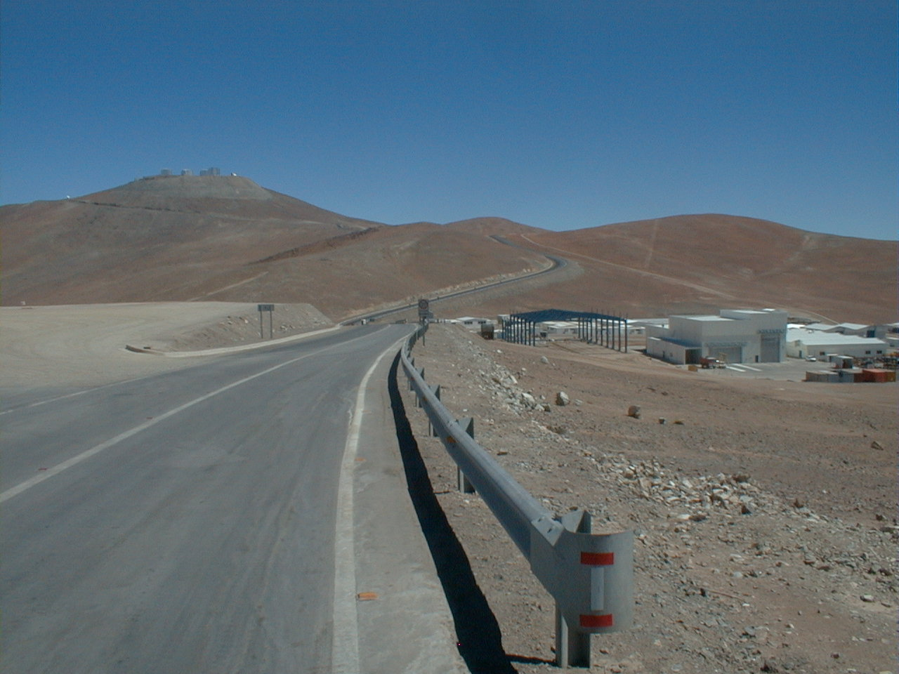 At the bottom of the Mount Paranal
